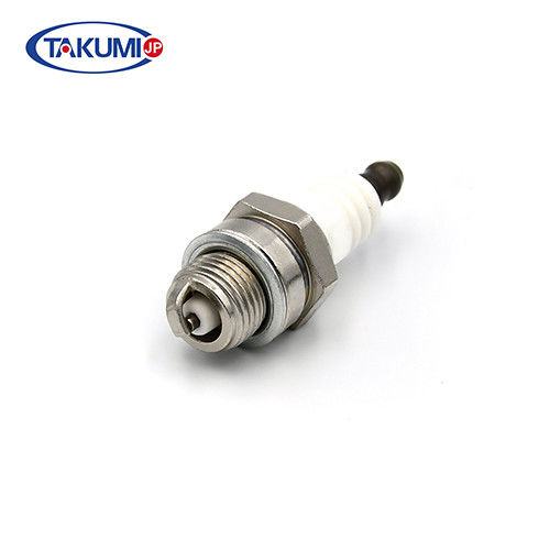 Lawn mover / chainsaw machine spark plug match for NGK BPM6A / Bosch WS6F / Champion CJ8Y